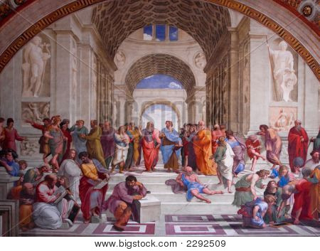 Plato'S Academy By Michelangelo