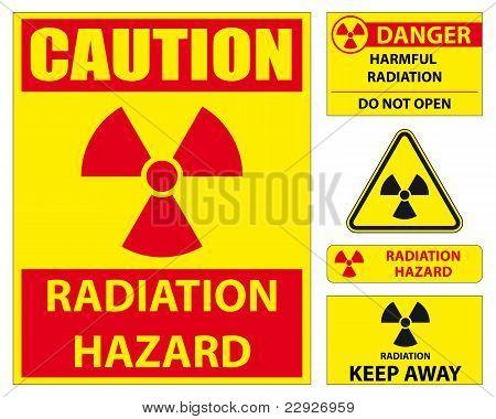 Radiation Hazard Signs