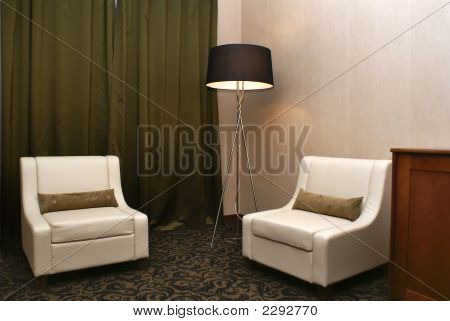 Sitting-Room On Modern Hotel