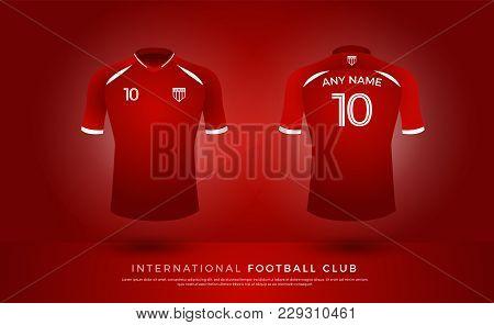 Soccer Tshirt Design Uniform Set