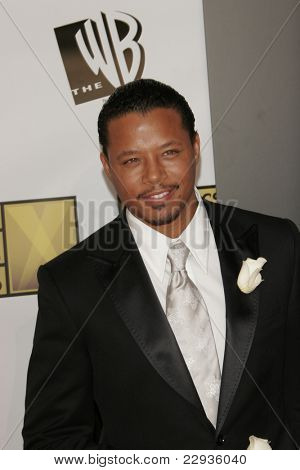 SANTA MONICA - JAN 9: Terrence Howard arrives at the11th annual Critics Choice Awards held at the Santa Monica Civic Center in Santa Monica, California on 9th January 2006