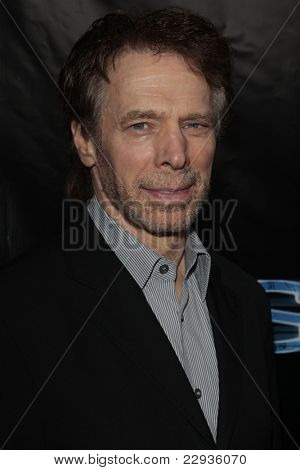 LOS ANGELES - NOV 1: Jerry Bruckheimer at the CSI NY 100th episode party at the Edison Downtown, Los Angeles, California on November 1, 2008