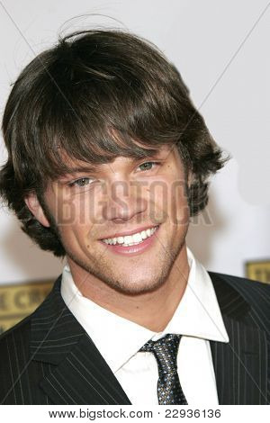 SANTA MONICA - JAN 9: Jared Padalecki arrives at the11th annual Critics Choice Awards held at the Santa Monica Civic Center in Santa Monica, California on 9th January 2006