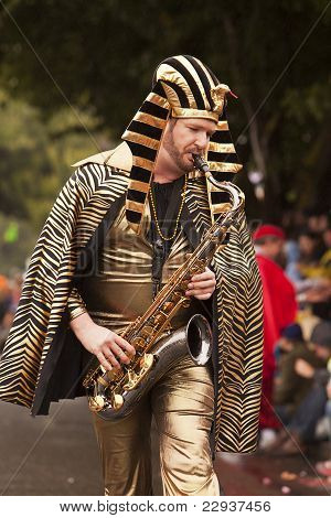 King Tut With Sax