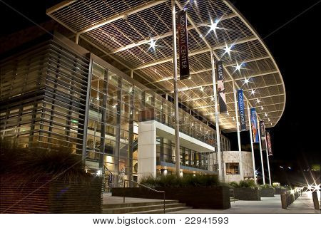 Mondavi Performing Arts Center at Night