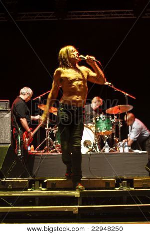 Iggy and The Stooges in Concert