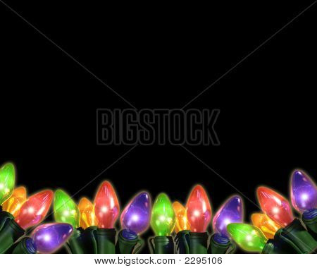 Multi Colorful Bulbs On Bottom