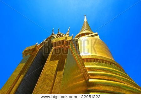 Thai temple, Wat Phra Kaew.