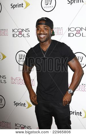 WEST HOLLYWOOD - AUG 28: Ray J at the 4th annual Icons & Idols party at the Sunset Tower Hotel in West Hollywood, California on August 28, 2011