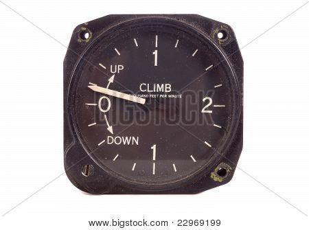 climb/descent indicator