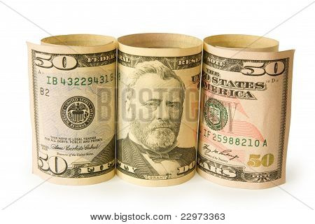 Fifty Dollar Bank Notes