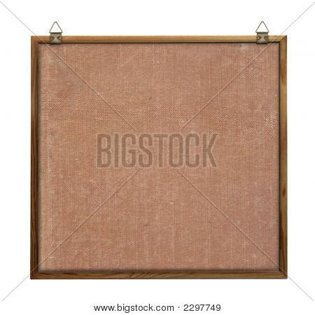 Noticeboard With Hangers