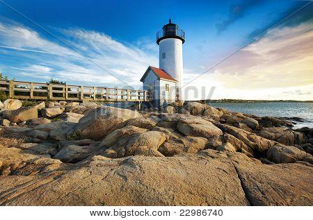 Annisquam lighthouse