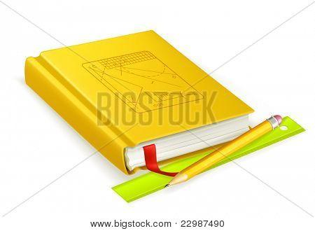 Schoolbook, vector