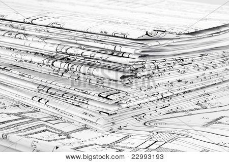 Blueprints - desenhos arquitetônicos profissionais