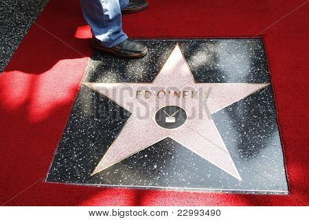 LOS ANGELES - AUG 30: Ed O'Neill star at a ceremony where actor Ed O'Neill receives a star on the Hollywood Walk of Fame on August 30, 2011 in Los Angeles, California