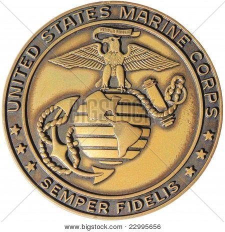 美国海军陆战队徽章