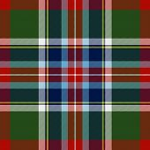 image of tartan plaid  - This Bruce of Kinnaird tartan reserved for that branch of the family - JPG