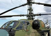 foto of attack helicopter  - Attack helicopter is armed with rockets bombs guns and able to fight day and night  - JPG
