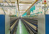 Coarse Cotton Factory In Spinning Production Line And A Rotating Machinery And Equipment Production  poster