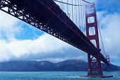 stock photo of golden gate bridge  - San Francisco - JPG