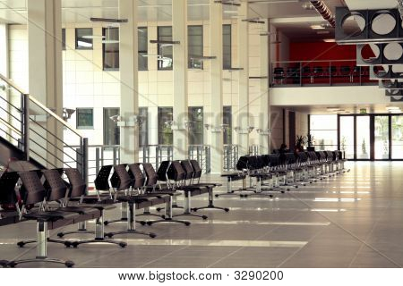 Empty Spacious Hall