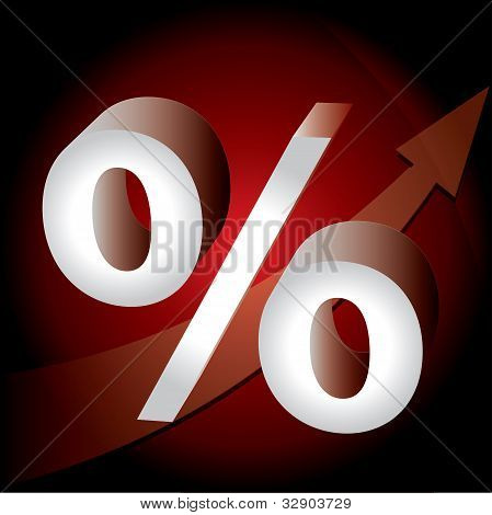 Prozent-Marke