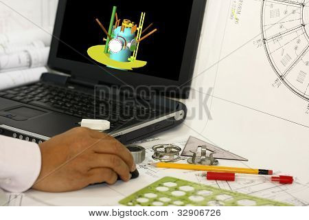 Drafting 3D Model