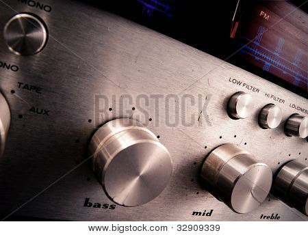 old dirty fm tuner