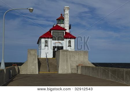 Duluth S Pier Lighthouse