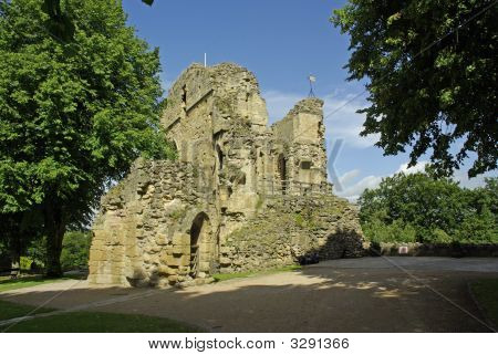 Ruins Of Knaresborough Castle