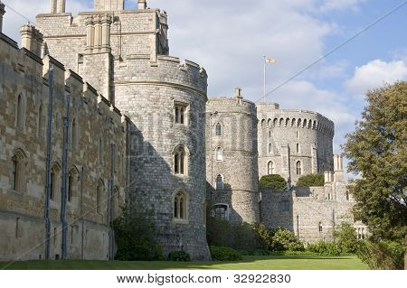 Windsor Castle, south side