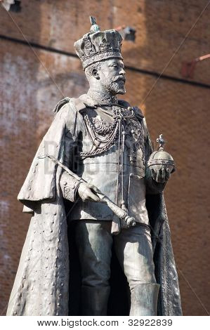 King Edward VII Statue, Reading