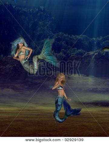 Young Mermaids