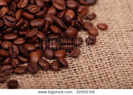 dark brown coffee