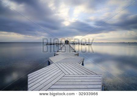 Zig Zag dock