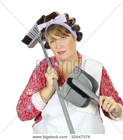 Exasperated Housewife