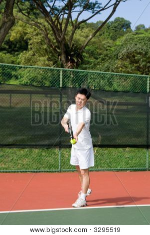 Aisan Tennis Player