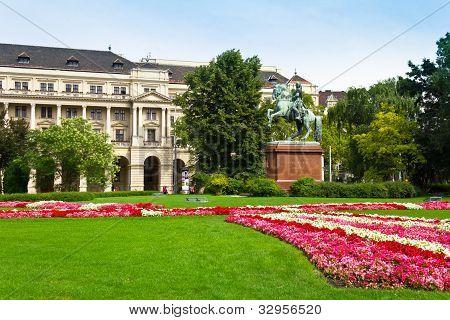 Rakoczi Statue in Budapest