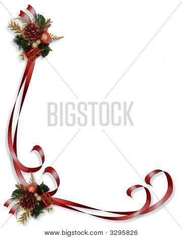 Christmas Border Frame Illustration