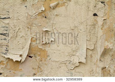 Old damaged wall
