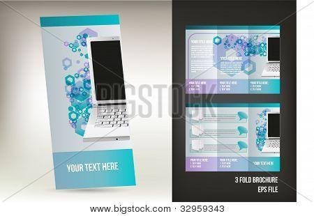 Vector brochure design