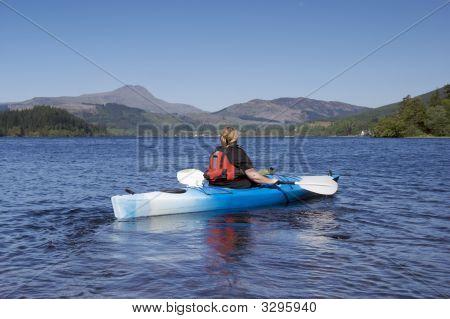 Kayaking On Loch Lomond