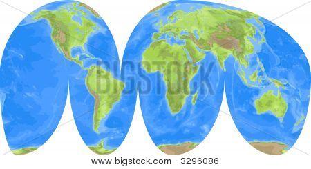 Interruped World Map
