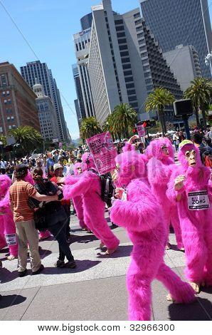 Pink Gorillas