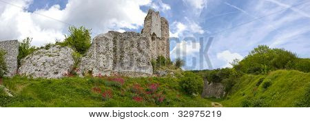 Richard Lion Heart Castle - Panorama