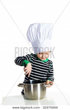 Baby Kitchen Chef Cook