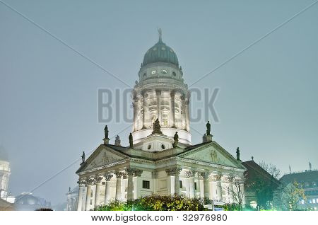 The Franzosischer Dom At Berlin, Germany