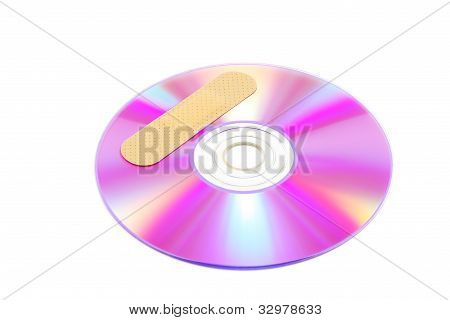 CD with software patch