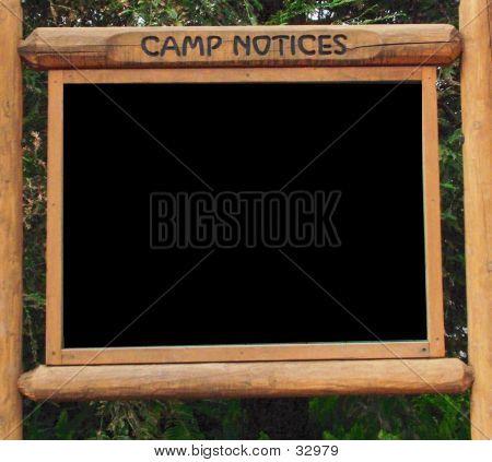 Camp Notice